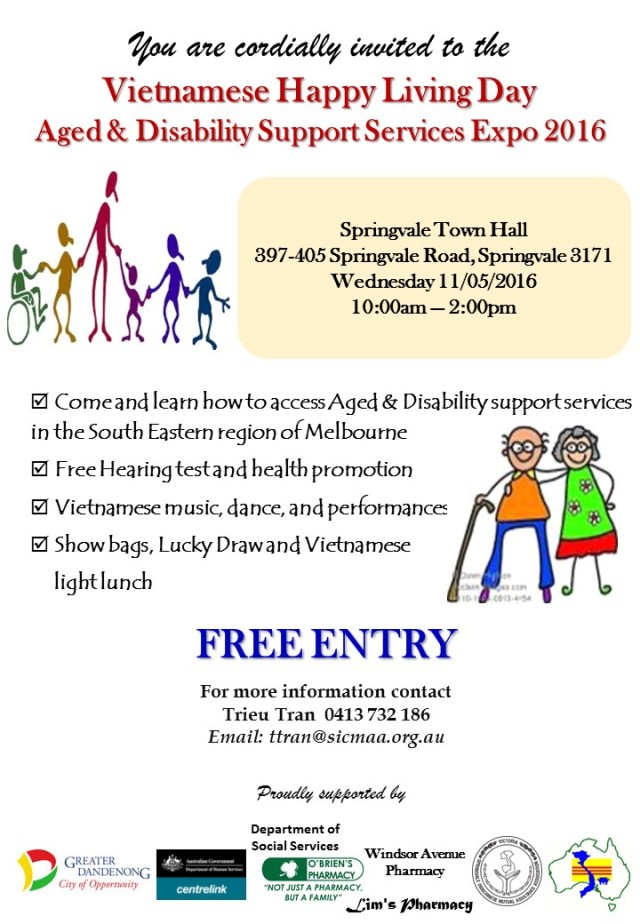 Aged & Disability Expo 2016 (Eng)