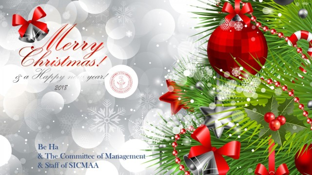 SICMAA Xmas & NY Greetings