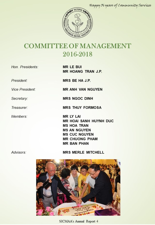 SICMAA 36th AGM Booklet